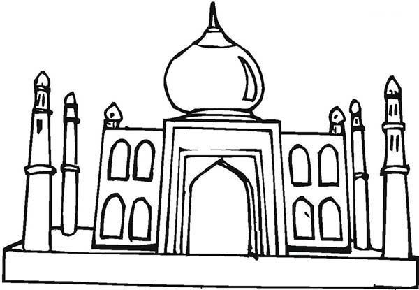 Taj mahalrk0rsqydpdfg1wm6umajtxq7kqw9ck free colouring pages for Taj mahal coloring page