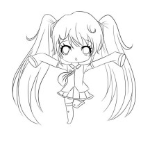 anime chibi boy coloring pages - photo#37