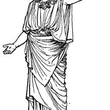 Awesome Greek Gods and Goddesses Coloring Page