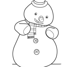 Chilly from Doc McStuffins Coloring Page