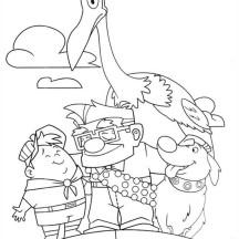 Disney Up Main Character Coloring Page