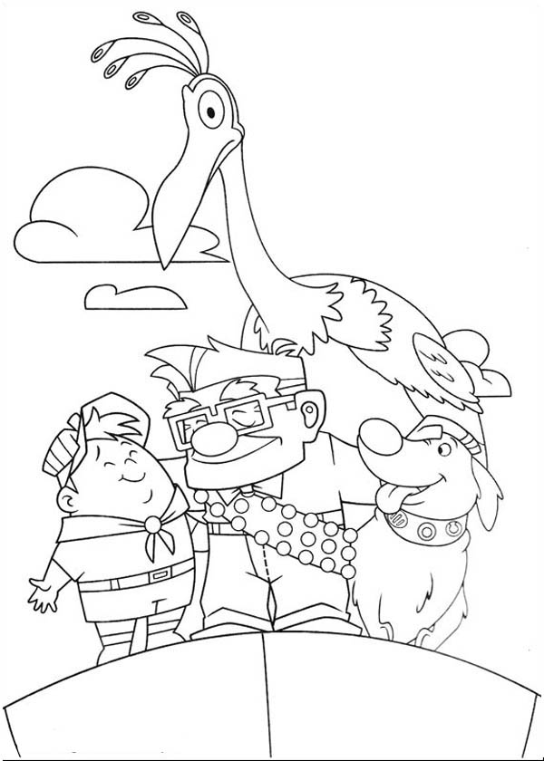 disney up coloring pages - photo#18