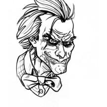 Joker Coloring Page