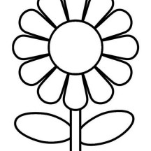 Lovely Flower Coloring Page