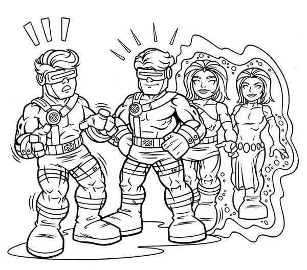 hero squad coloring pages - photo#14