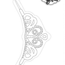 Princess Sofia the First Tiara Coloring Page