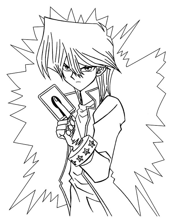 Seto Kaiba is Angry in Yu Gi Oh