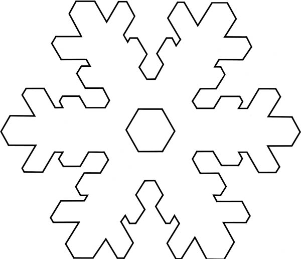 giant snowflakes coloring pages - photo#31