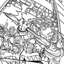 Super Hero Squad The Avengers Coloring Page