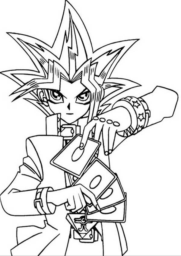 Yu Gi Oh The Movie Pyramid Of Light Coloring Page Netart