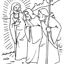Amazing Miracles of Jesus Coloring Page