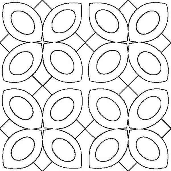 Amazing Pattern Of Rangoli Coloring Page Netart