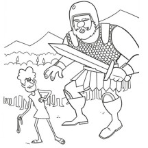 David Fought Goliath with Only a Slingshot and a Stone