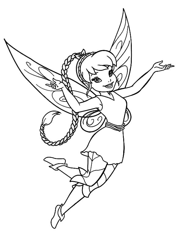 Disney Fairy Fawn in Pixie Coloring Page