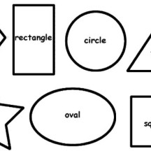 Drawing Basic Shapes Coloring Page