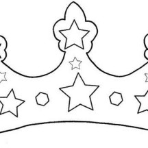 Fabulous Royal Princess Crown Coloring Page