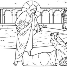 Healing of the Man at the Pool of Bethesda