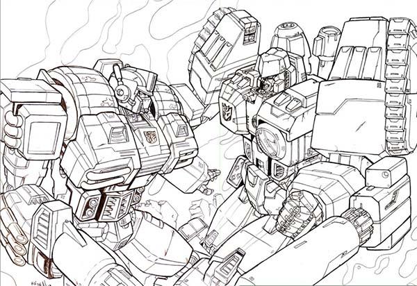 Jarvis Varnado: King Optimus Prime Transformers Coloring Pages   412x600