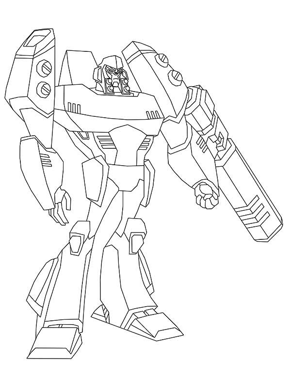Picture of Megatron Coloring Page
