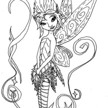 pixiehollow coloring pages - photo#12