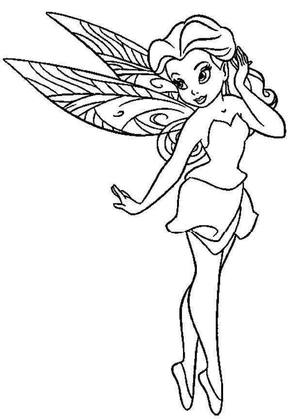 fairies and pixies coloring pages - photo#22