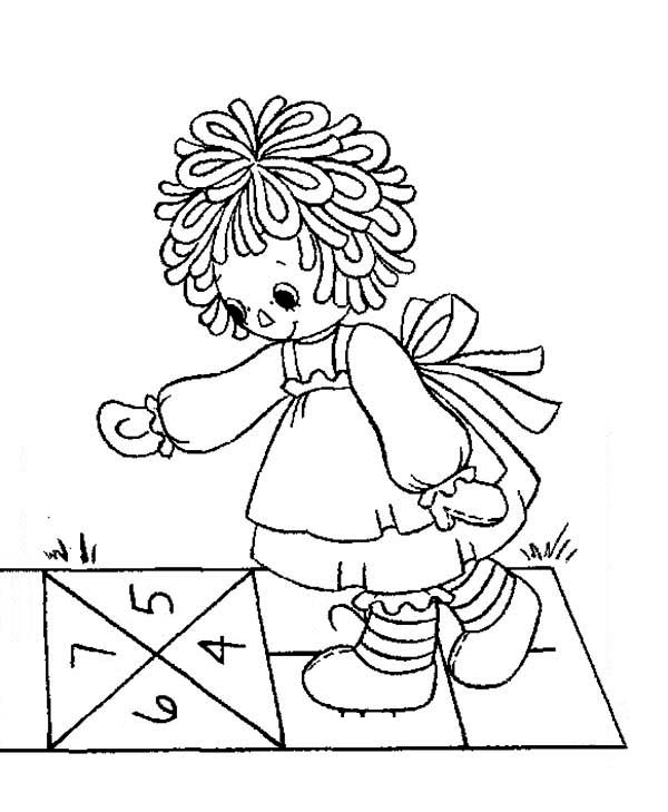 Raggedy ann coloring pages coloring page for Raggedy ann and andy coloring pages