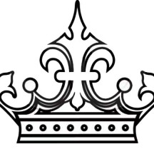 Royal Princess Crown Picture Coloring Page