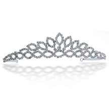 Sterling Silver Tiara Morning Dew in Princess Crown Coloring Page