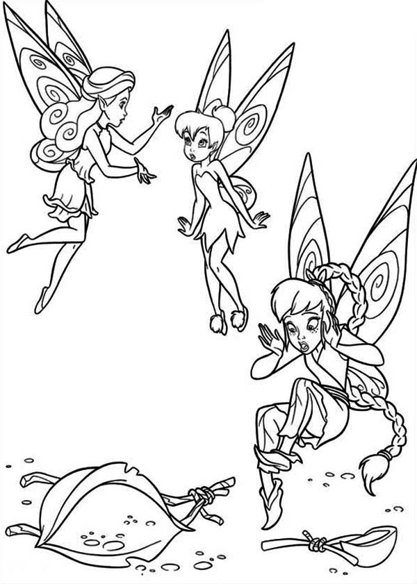 pixiehollow coloring pages - photo#11