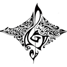 Art of Treble Clef Coloring Page