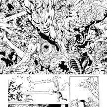 Amazing Justice League Coloring Page