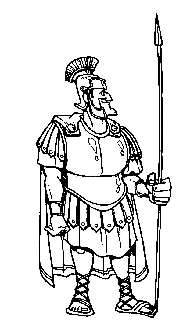 centurion servant coloring pages - photo#26