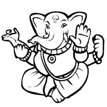 Divali is Hindu Festival of Light Coloring Page