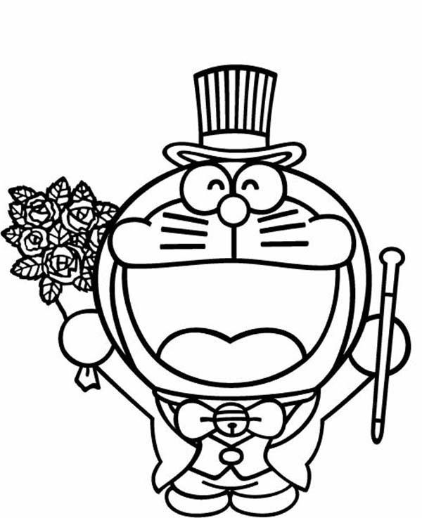 Doraemon Magician Coloring Pages