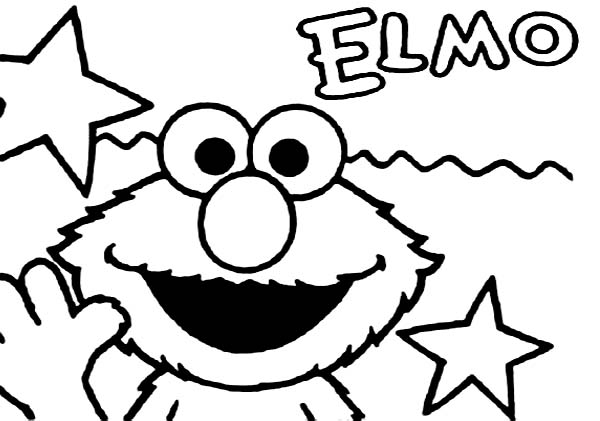 elmo coloring pages baby elmo - photo#42