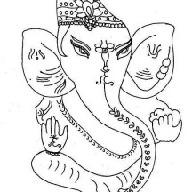 Festival of Diwali Coloring Page