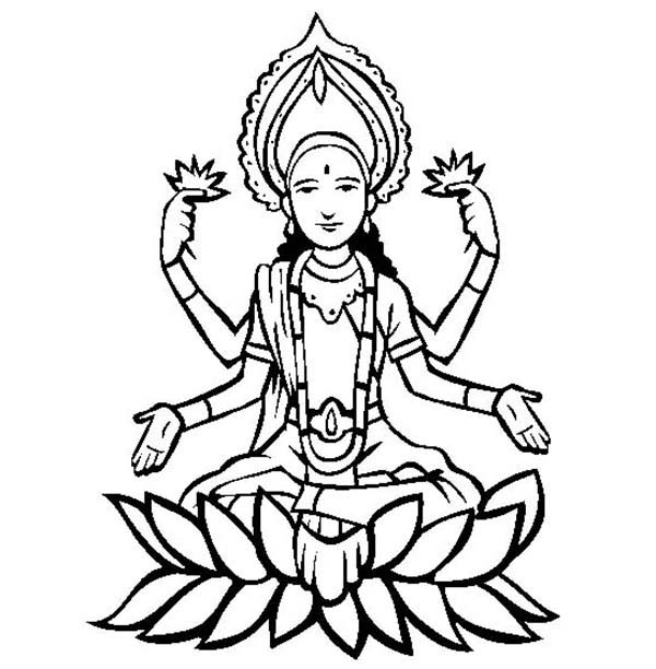 Happy Diwali Coloring Page NetArt