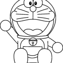 Happy Doreaemon Coloring Pages