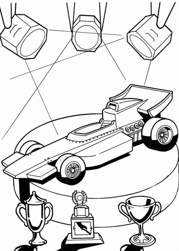 hot wheels champions car coloring page - netart