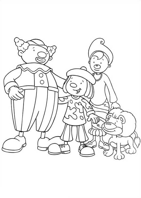 How to Draw Jojo 39 s Circus Charcters Coloring Page NetArt