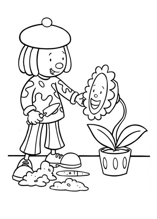 jojos circus coloring pages - photo#18