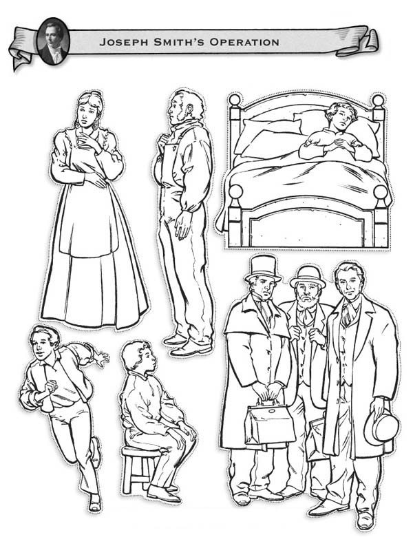 Joseph Smith Operations Coloring Page
