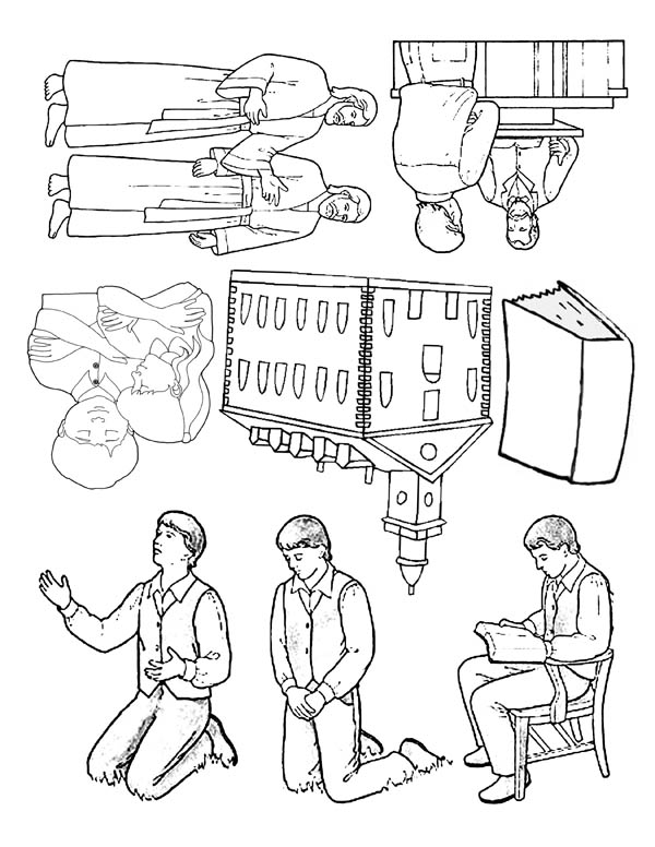 Joseph Smith Pictures Coloring Page
