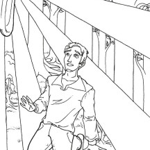 Joseph Smith and the Second Great Awakening Coloring Page