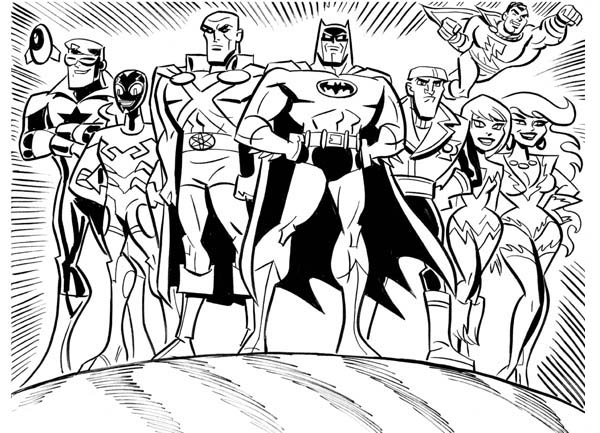 Justice League (Brave and the Bold) by James Tucker