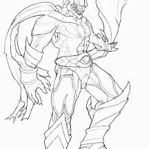 Kamen Rider Agito Coloring Page