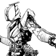 Kamen Rider Den O Liner Coloring Page