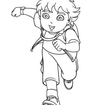Nickelodeon Go Diego Go Movie Coloring Page