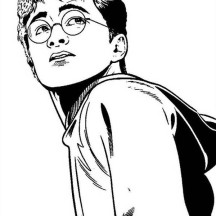 Picture of Harry Potter Coloring Page