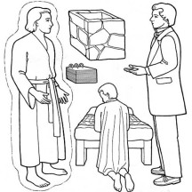 Picture of Joseph Smith Coloring Page
